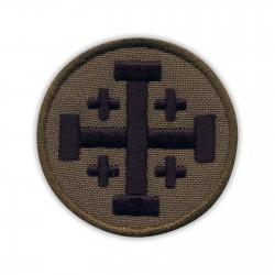 Jerusalem cross - subdued