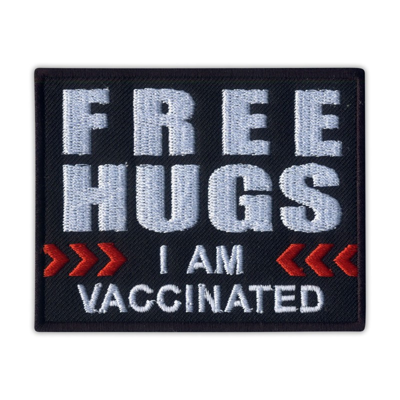 FREE HUGS ... I AM VACCINATED ...