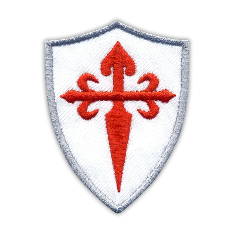 Red Cross of Saint James on the white shield