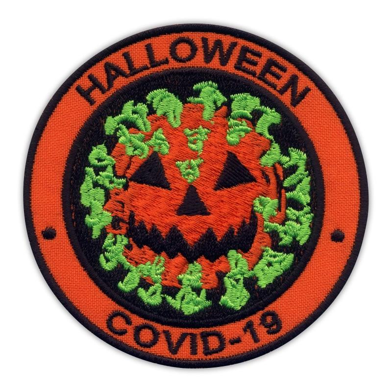 HALLOWEEN - virus as pumpkin