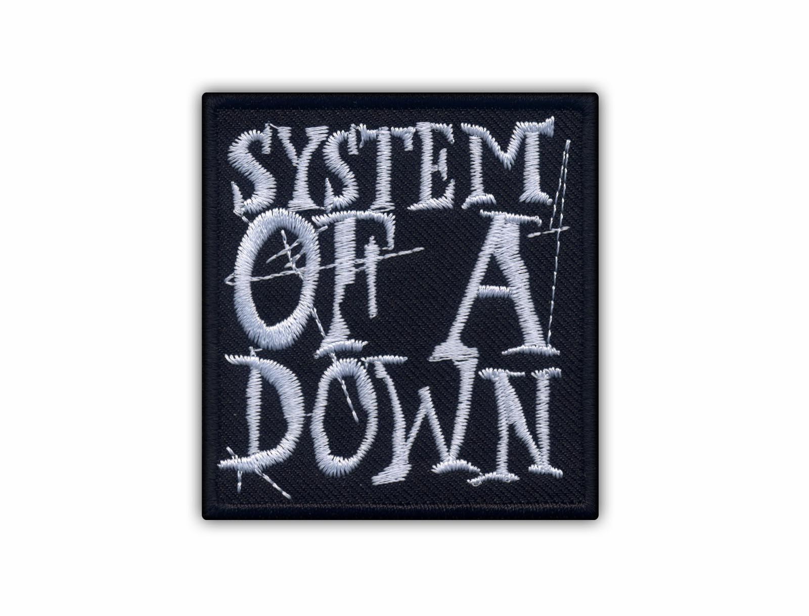 System Of A Down Embroidered Patch Badge