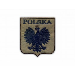 Polish coat of arms (olive background)
