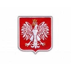 Polish coat of arm (white)