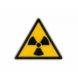 Radioactive patch - yellow background