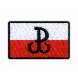 Fighting Poland - Anchor/Polska Walczaca - Kotwica - flag