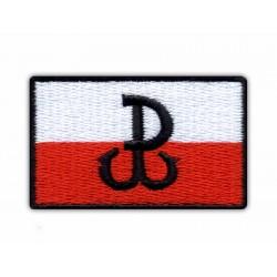 Fighting Poland - Anchor/Polska Walczaca - Kotwica - flag