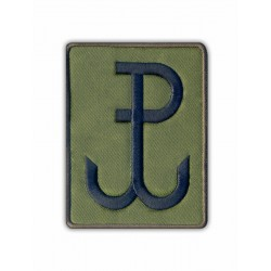 Fighting Poland - Anchor (olive)/Polska Walczaca - Kotwica