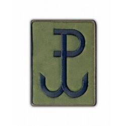 Polska Walcząca - Kotwica / Fighting Poland - Anchor (olive)
