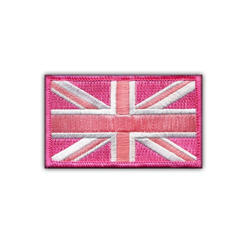 Flag of Great Britain - pink