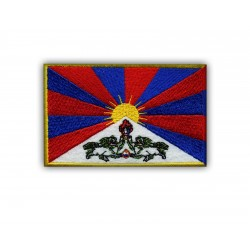 Flag of Tibet-big (10 x 6.5 cm)