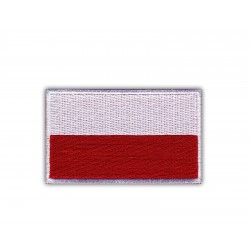 Flag of Poland ( 7.2 cm x 4.5 cm )