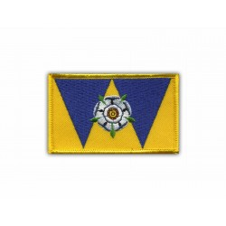 West Yorkshire coat of arms-flag