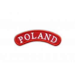 Shoulder patch POLAND - red frame
