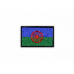 Gypsy Flag (Flag of the Roma People)