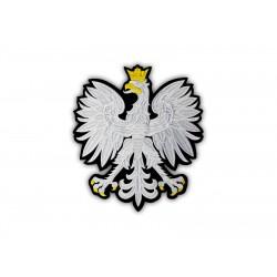 Polish eagle emblem - a large patch on the back