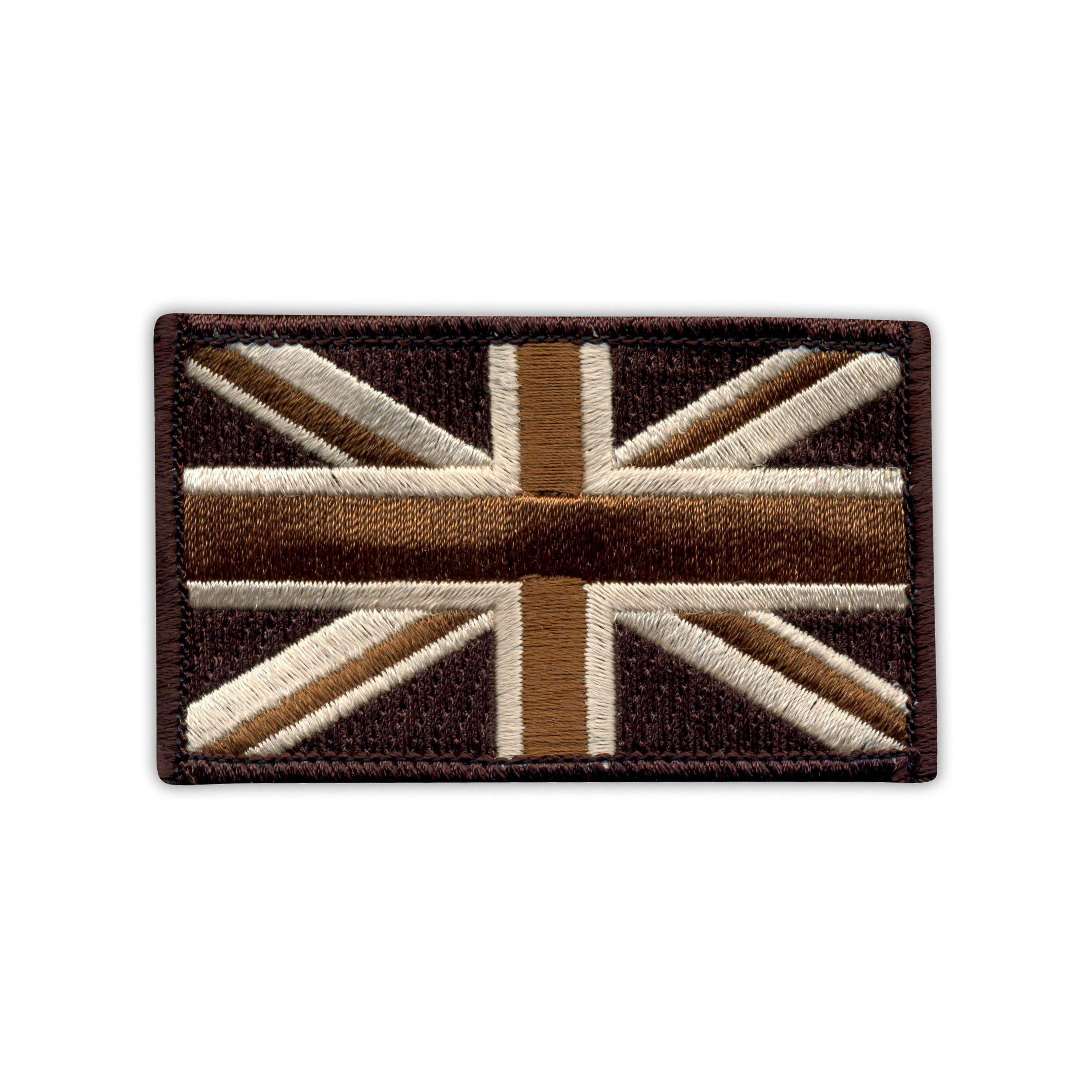 Military Flag of United Kingdom 7.5 x 4.5 cm MTP - Embroidered PATCH//BADGE