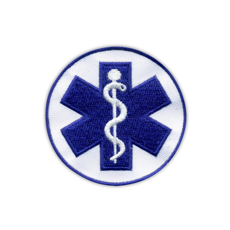 Star of life small blue