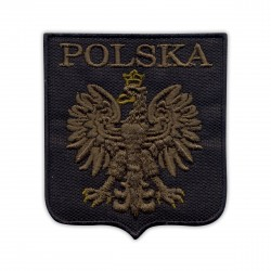 Polish coat of arm (olive eagle)
