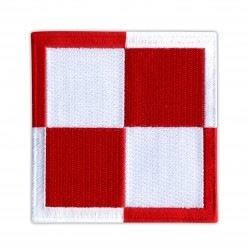 Polish Air Force checkerboard 3.5""