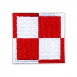 Polish Air Force checkerboard 2""