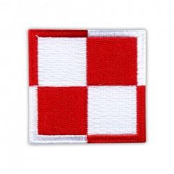 """Polish Air Force checkerboard 3.5"""""""