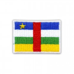 Flag of the CAR - Central African Republic