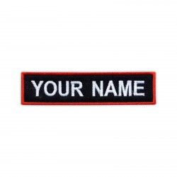Custom Name Patch - different sizes and colours