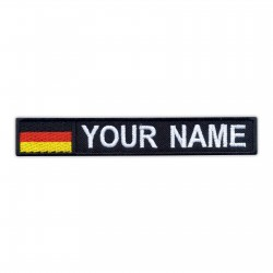 Name Patch with flag of Germany
